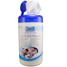 Contour Living Unscented CPAP Mask Cleaner Wipes (62 Wipes/ Canisters)