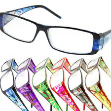 Women's Reading Glasses with Rectangle Floral Frames