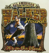 ALL AMERICAN OUTFITTERS WALKER HOUND IT'S IN THE BLOOD SHIRT #526-Z