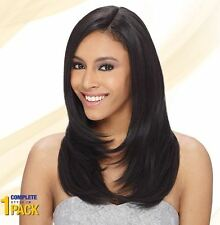 """ShakeNGo Que Milky Way Human Hair Mix Fourbulous Weave Invisible Part 12""""13""""14"""""""