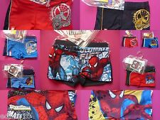 MARVEL SPIDERMAN boys swimming trunks various styles  Ages  3, 4, 5, 6 & 8 years