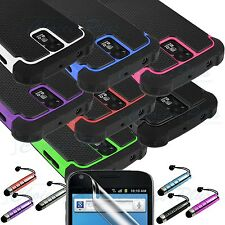 Dual Layer Hybrid Hard Case Cover for Samsung Galaxy S2 T989 Hercules T-Mobile