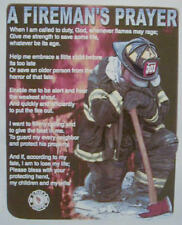 A FIREMAN'S PRAYER FIREFIGHTER SHIRT #1038