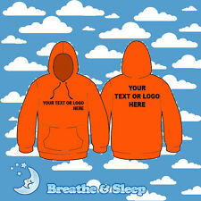 PERSONALISED, CUSTOM HOODIES PRINTED WITH YOUR TEXT!