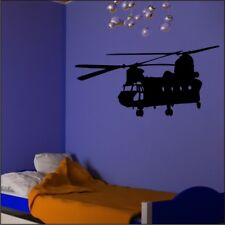 CHINOOK HELICOPTER vinyl wall sticker bedroom office wall art decal