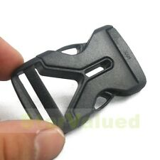 "2-100 PCS Side Release Buckle Snap For 1"" 25mm Backpack Paracord Strap Webbing"