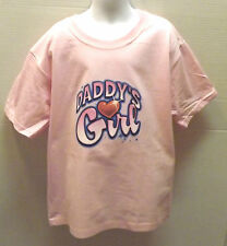 DADDY'S GIRL Love Heart Cute! Youth Kids JERZEES T-Shirt THE BEST 2-4 To14-16