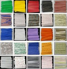 "4"" Paper Twist Ties Candles Favors Plastic Cello Bags assorted colors quantities"