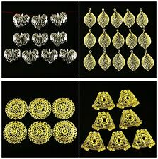 56604  Carved cuprum alloy kinds of shape pendant bead