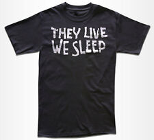 They Live Movie T Shirt - (John Carpenter) Graphic Tees for Men & Women & Kids