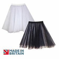 Full Net Underskirt Petticoat Bridesmaid/Prom/Party Dress Adults & Children