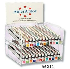 3/4 oz Waterbased Americolor Soft Gel Paste colors for icing in cakes cookies
