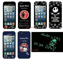 New Front & Back Glow In The Dark Luminous Screen Protector Sticker For iPhone 5