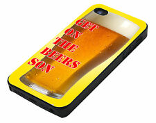 Get on the beers son Radio one iPhone 4 4S 4G Cover Vintage Phone Case hard