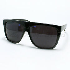 Mens Sunglasses Unique 80's Oversized Flat Top Square Fashion Frame