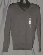 J. Ferrar Modern Fit Men's, V-Neck Charcoal Sweater, New with Tags