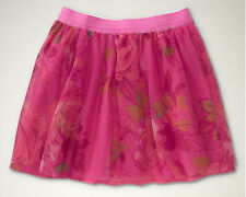 NWT GAP I Want Candy Floral Tulle Skirt Pink XS 4-5 S 6-7