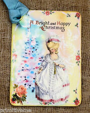 Hang Tags  FRENCH MARIE ANTOINETTE CHRISTMAS TAGS or MAGNET #148  Gift Tags