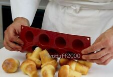 Silicone Baking Mold Popovers Yorkshire Pudding Laplander Muffin Rum Baba Mould