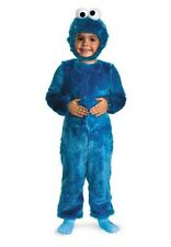 Sesame Street Cookie Monster Comfy Fur Toddler/Child Costume