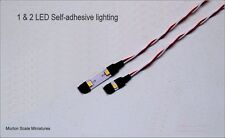 DOLLS HOUSE 3528 LED LIGHTS 6v to 12v DIMMABLE 1 & 2 LED LOW TEMPERATURE