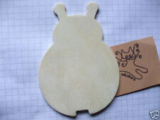 Wooden Shape Ladybird Pack of 3, 6, or 9 Wood Embellishment blank plaques