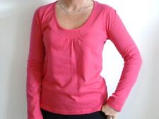 Ladies 100% cotton long sleeved t.shirt top