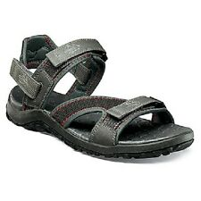 Nunn Bush Men's Riptide Pewter Gray Sandals SIZES! NIB NEW 84335