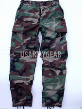 Made in USA ARMY Woodland Camo BDU Fatigues Military Uniform Pants Trousers USGI