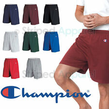 "Champion Mens Cotton Shorts 6"" Inseam S-3XL Gym Athletic Basketball Workout 8187"