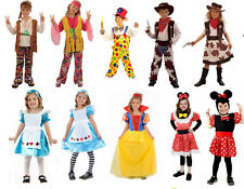 NEW KIDS GIRLS CHILDRENS FANCY DRESS COSTUMES. AGE 4-6, 7-9, 10-12. 22 STYLES