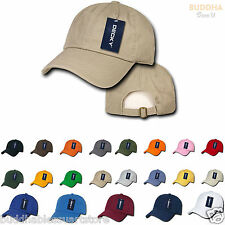 New Washed Polo Washed Cotton Hats Caps Brass Buckle 20 colors Unisex Decky