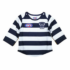 Official AFL Geelong Cats Baby Toddler Footy Football Jumper Guernsey