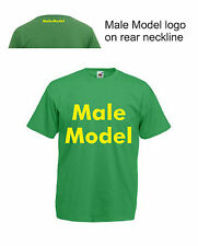 Male Model T-Shirt Funny Mens Tee Workout Top Towie Marbs Made in Chelsea Swag
