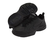 NEW! MENS NIKE AIR MONARCH IV RUNNING TRAINING SHOES BLACK WIDE WIDTH 4E SIZE