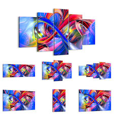 Canvas Picture 30 Shapes Print abstract artwork graphics colors 2294 UK