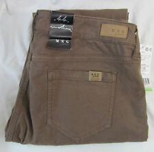 MNG by Mango Brown Dinah Super Slim Jeans, New with Tags