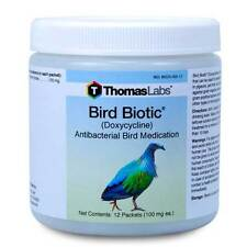Bird Biotic Powder (Doxycycline) 100mg, 12, 30 & 60 Packets Available