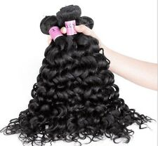 "100% Brazilian Virgin Human Curly Black Hair Weave EXTENSIONS 100g 12"" - 28"" 1pc"