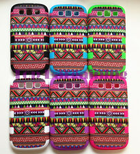 NEW EXCLUSIVE AZTEC TRIBE RETRO VINTAGE CASE COVER FOR  Samsung Galaxy S3 I9300