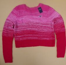 NWT Hollister By Abercrombie Womens Cable Knit Sweater S M L