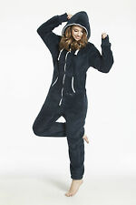 One Piece Jumpsuit Cosy Brushed Fleece By Nordic Way Teddy Bear All In One New