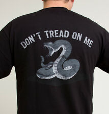 Mil Spec Monkey MSM Don't Tread On Me T-Shirt Black NEW Multiple Sizes!