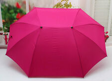 lovely  oversized windproof lovers umbrella double sturdy steel shaft 4 color