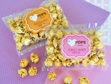 50 My Heart POPS for You Caramel Popcorn Wedding Shower Party Favor