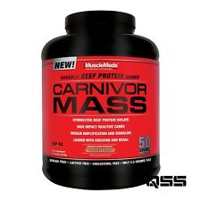 MuscleMeds CARNIVOR MASS 2.5kg ANABOLIC BEEF PROTEIN WEIGHT GAINER ISOLATE CARBS