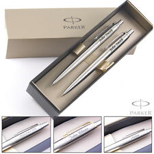 Personalised Engraved PARKER Jotter Ballpoint Pens / Pencil / Pen Set Great Gift