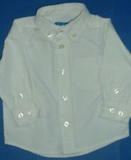 Boys White Dress Shirts PLACE 6-9M Baby Togs 18M In Design 6Y Parker 8Y & 10Y