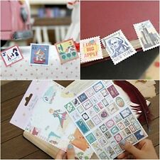 Decorative Adhesive DIary Decoration DIY Sticker_ 7321 Stamp Sticker Set Ver.3