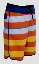 ~~~NEW~~~MENS QUIKSILVER BRIGG SCALLOP BOARDSHORTS BOARD SHORTS ORANGE